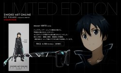 Picture of Sword Art Online Glasses with blue blocker protection, Aincrad KIRITO Model